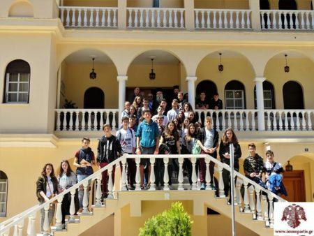 Επίσκεψη του 3ου Γυμνασίου Μυτιλήνης στον Σάρτης Ευστάθιο