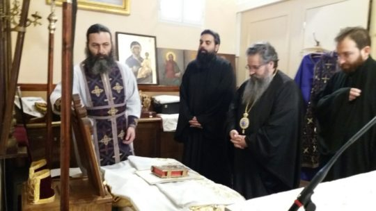 Λευκάδα: Επανεγκαινισμός Αγίας Τραπέζης στον Ναό Αγίων Αποστόλων Κατωμερίου Μεγανησίου
