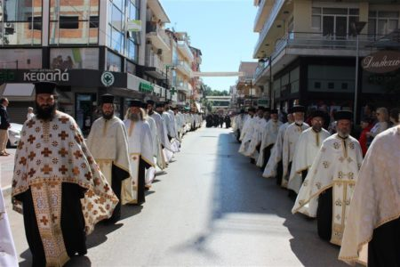 Καρδίτσα: Χιλιάδες πιστοί στην Πανήγυρη του αγίου και ενδόξου ιερομάρτυρος Σεραφείμ