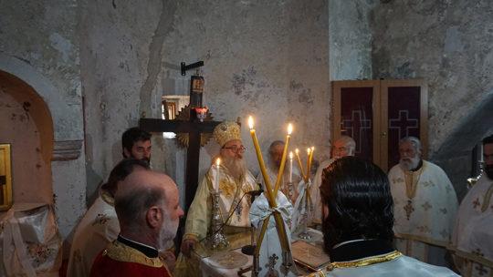 Ο Γορτύνης Μακάριος στην πανήγυρη της Ιεράς Μονής Βροντησίου