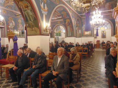 Αρκαλοχώρι: Η Ακολουθία του Νυμφίου στον Καθεδρικό Ναό Μεταμορφώσεως του Σωτήρος