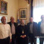 Επίσκεψη αντιπροσωπείας της Ε.Π.Σ. Λακωνίας στον Μητροπολίτη Μάνης