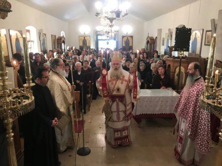 Κυριακή του Θωμά στην Ι. Μονή Αγίων Πάντων Αγιασμένου Ιεράπετρας