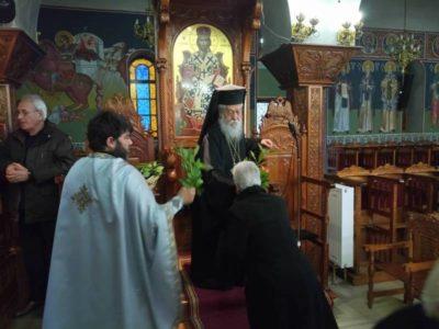 Κυριακή των Βαϊων στη Μητρόπολη Παραμυθίας