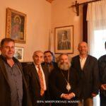 Συνάντηση του Μητροπολίτου Μάνης με τη Διοίκηση του Επιμελητηρίου Λακωνίας