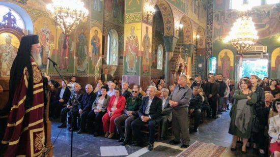 Ναύπακτος: Με λαμπρότητα τιμάται η μνήμη του Αγίου Γεωργίου
