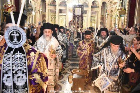 Η ξεχωριστή ακολουθία του Επιταφίου στα Ιεροσόλυμα