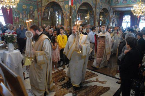 Χαλκίδα: Χιλιάδες πιστοί πανηγύρισαν τη Σύναξη Παντών των Ευβοέων Αγίων