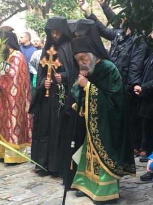 Άγιο Όρος: Η Κυριακή των Βαΐων στη Μονή Δοχειαρίου