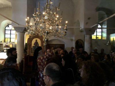Πρώτη Ανάσταση στην Μονή Αγίου Ιωάννου του Θεολόγου στο Μαζαράκι Θηβών