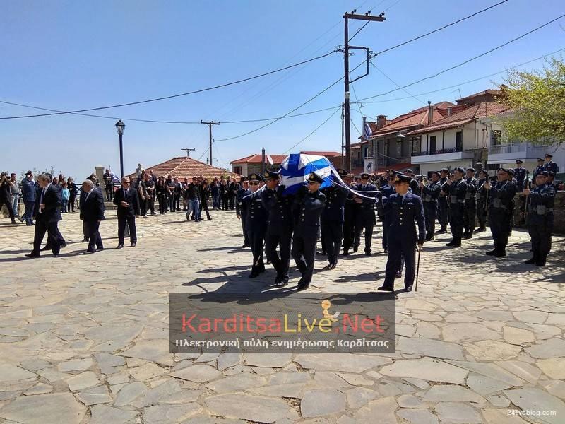 Γιώργος Μπαλταδώρος-Αθάνατος-Έφθασε η σορός του ήρωα στο Μορφοβούνι Καρδίτσας