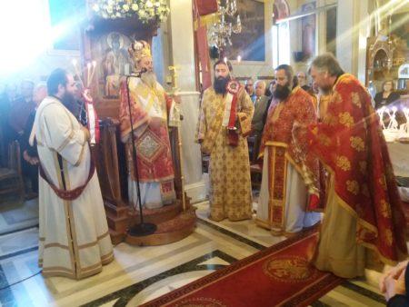 Πατρών Χρυσόστομος: Ο Άγιος Γεώργιος επισφράγισε την αναστάσιμη εμπειρία με το αίμα του μαρτυρίου του