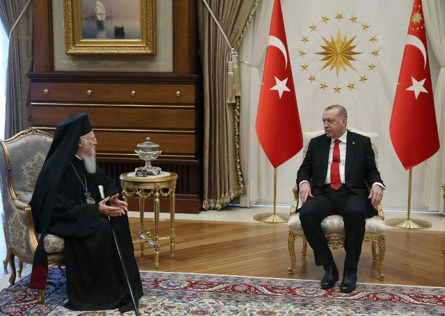 Η συνάντηση του Οικουμενικού Πατριάρχη με Ερντογάν