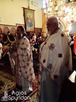 Η Εορτή του Αγίου Μάρκου στη Μητρόπολη Κερκύρας