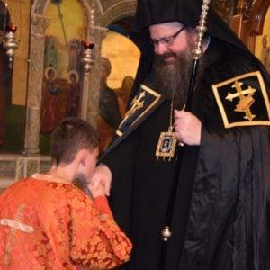 Μάνδρα: Η βραδινή Ακολουθία της Μεγάλης Τρίτης στον Ναό Αγίας Παρασκευής