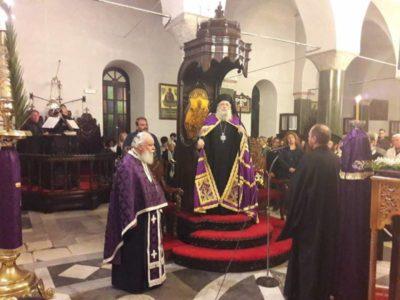 Νάξος: Η Ακολουθία του Νυμφίου στον Ιερό Ναό Ζωοδόχου Πηγής