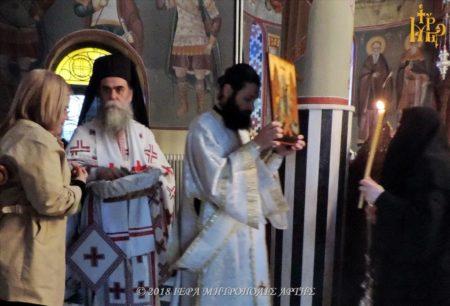 Άρτα: Πρώτη Ανάσταση στο Μοναστήρι Ροβελίστης