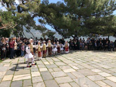 Μονή Οσίου Λουκά: Κυριακή των Βαΐων και Επέτειος Κηρύξεως της Επαναστάσεως στη Ρούμελη