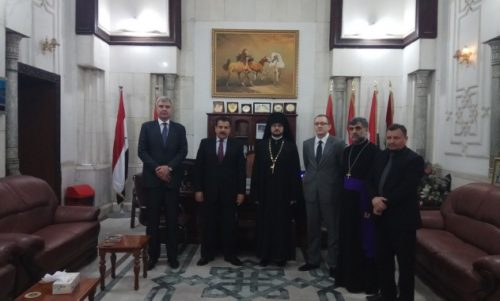 Στο Ιράκ μετέβη εκπρόσωπος της Ρωσικής Εκκλησίας