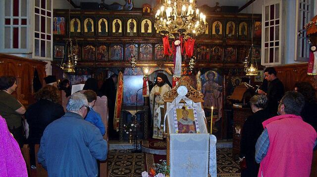 λατρευτικές εκδηλώσεις ανάμνησης της παρόδου του ιερού λειψάνου του Αγίου Νικολάου στην ομώνυμη Γυναικεία Μονή Ιρά Αθανίου