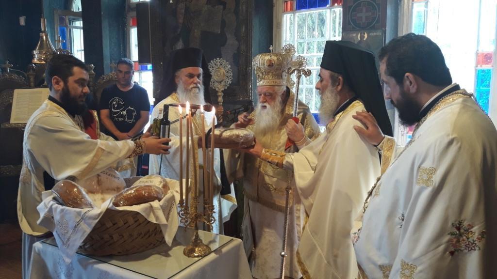 Εορτή του Αγίου Πνεύματος στο Ιερό Προσκύνημα Παναγίας Τρυπητής