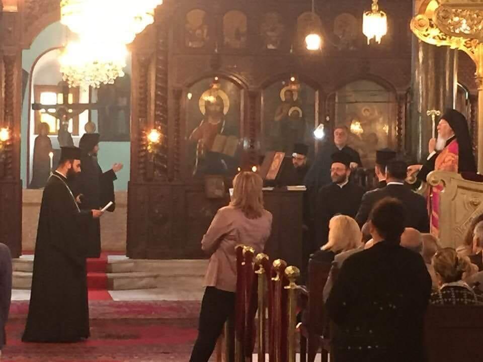 Χειροθεσία Πρωτοπρεσβυτέρου από τον Οικουμενικό Πατριάρχη