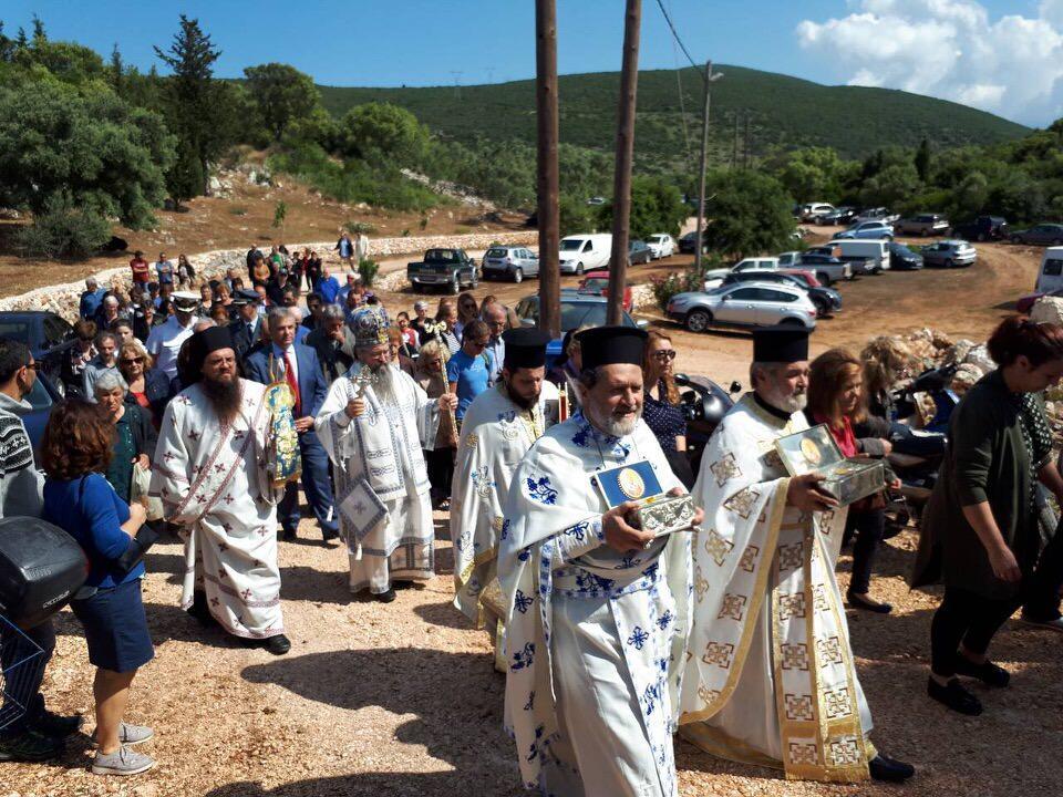 λατρευτικές εκδηλώσεις ιερού λειψάνου του Αγίου Νικολάου ομώνυμη Γυναικεία Κοινοβιακή Μονή Ιρά Αθανίου