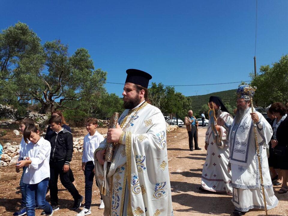 λατρευτικές εκδηλώσεις ιερού λειψάνου του Αγίου Νικολάου Γυναικεία Κοινοβιακή Μονή Ιρά Αθανίου