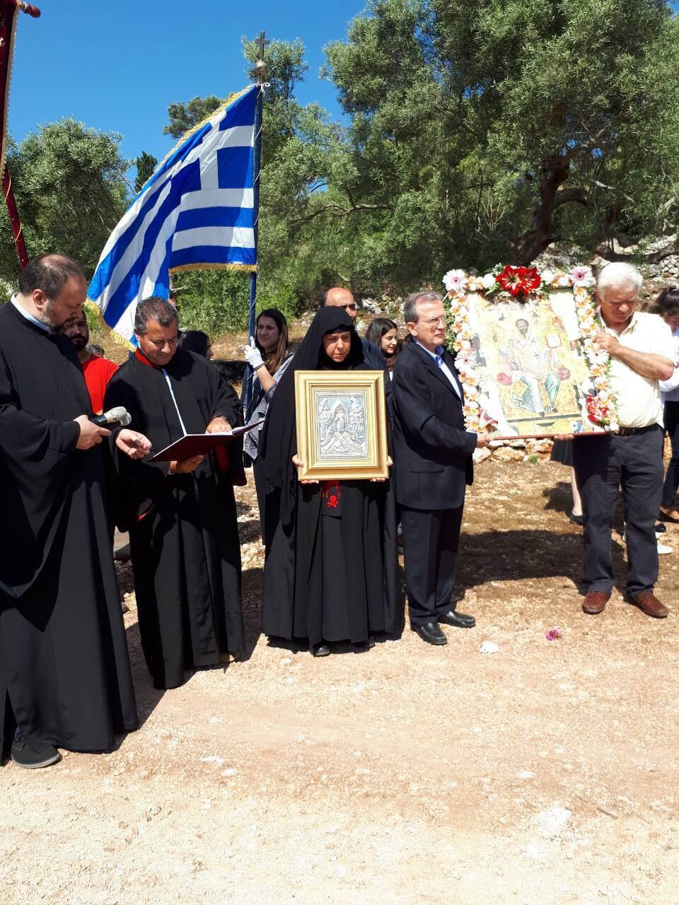 λατρευτικές εκδηλώσεις ιερού λειψάνου του Αγίου Νικολάου Γυναικεία Μονή Ιρά Αθανίου