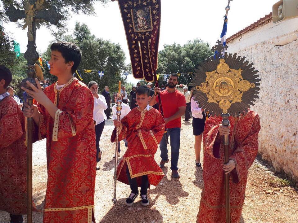 λατρευτικές εκδηλώσεις ιερού λειψάνου Αγίου Νικολάου Γυναικεία Κοινοβιακή Μονή