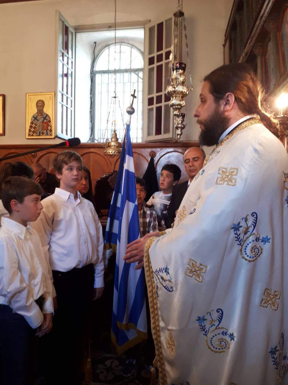 λατρευτικές εκδηλώσεις ιερού λειψάνου Αγίου Νικολάου Κοινοβιακή Μονή Ιρά Αθανίου