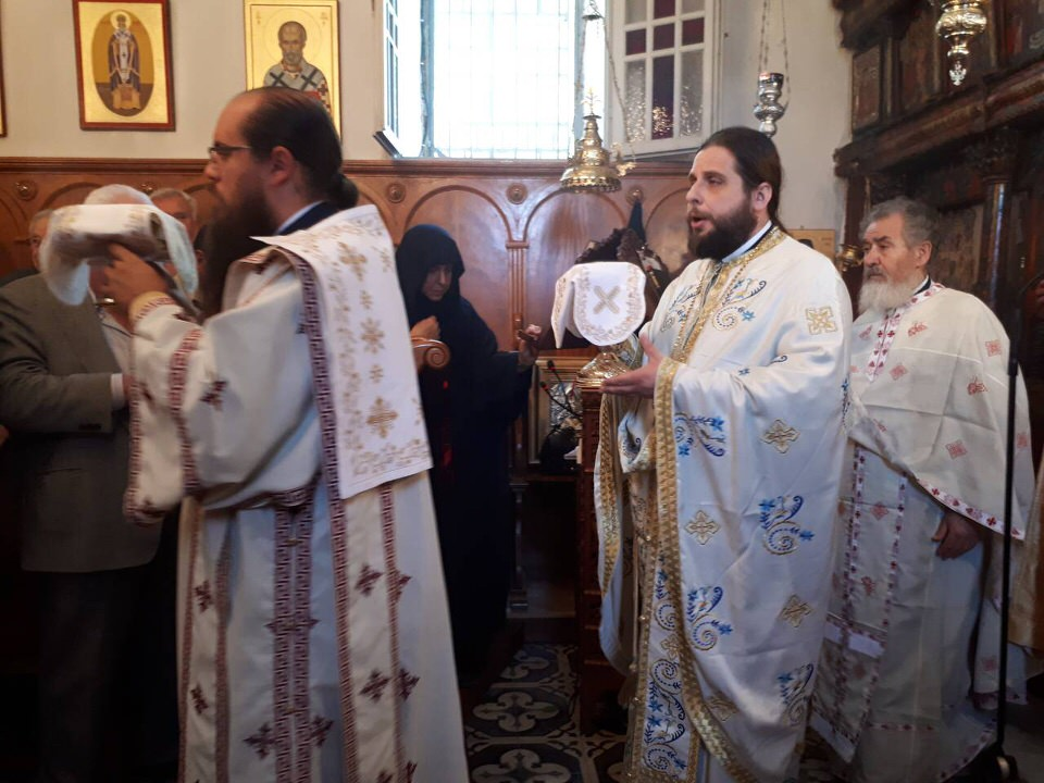εκδηλώσεις ιερού λειψάνου Αγίου Νικολάου Γυναικεία Κοινοβιακή Μονή Ιρά Αθανίου