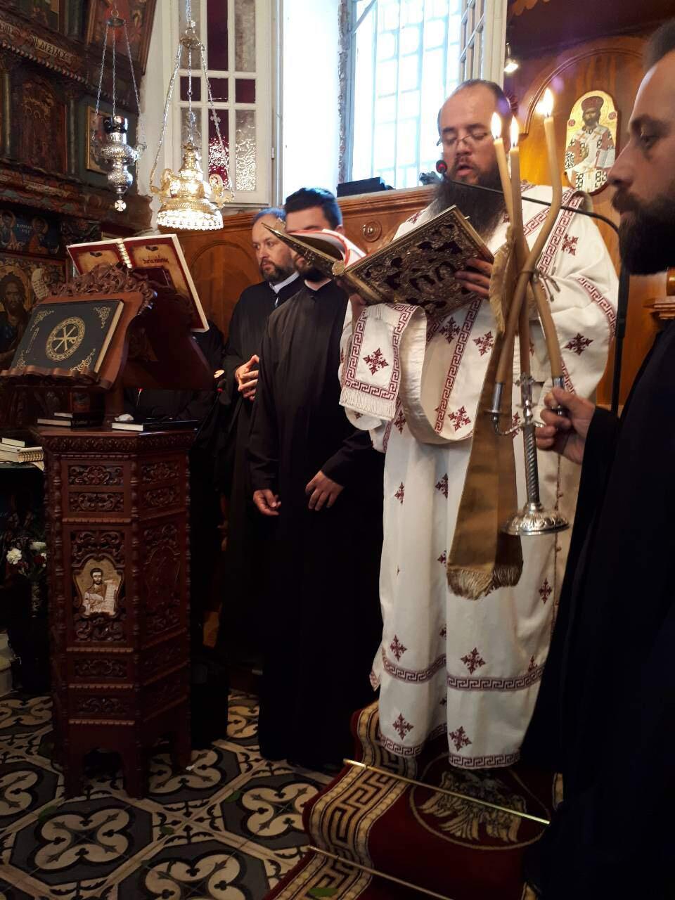 εκδηλώσεις ιερού λειψάνου Αγίου Νικολάου Κοινοβιακή Μονή Ιρά Αθανίου