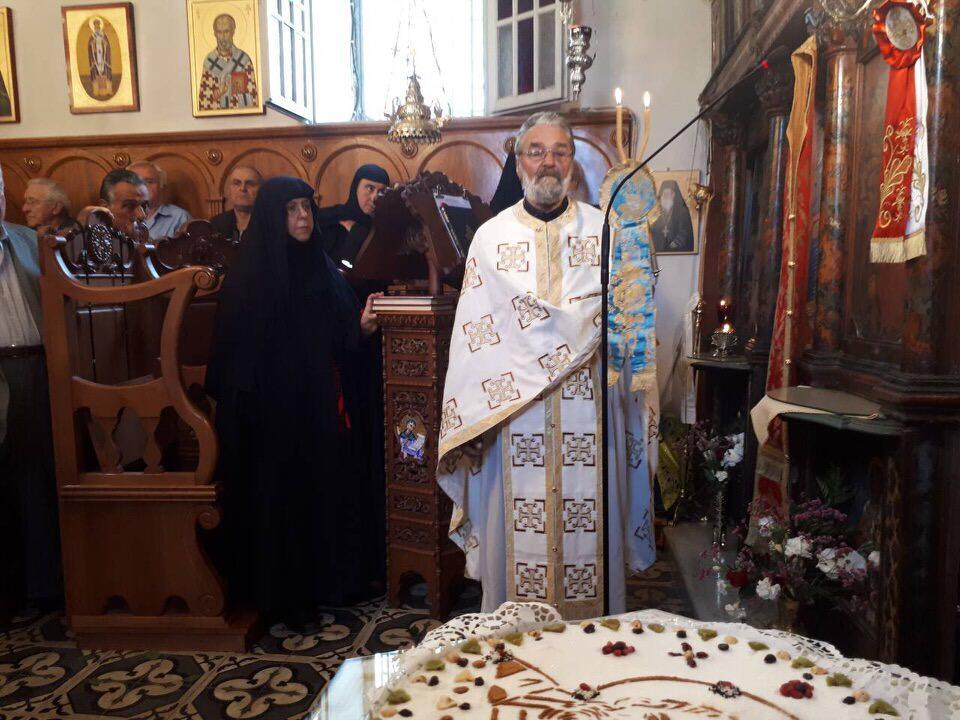 εκδηλώσεις λειψάνου Αγίου Νικολάου Γυναικεία Κοινοβιακή Μονή Ιρά Αθανίου