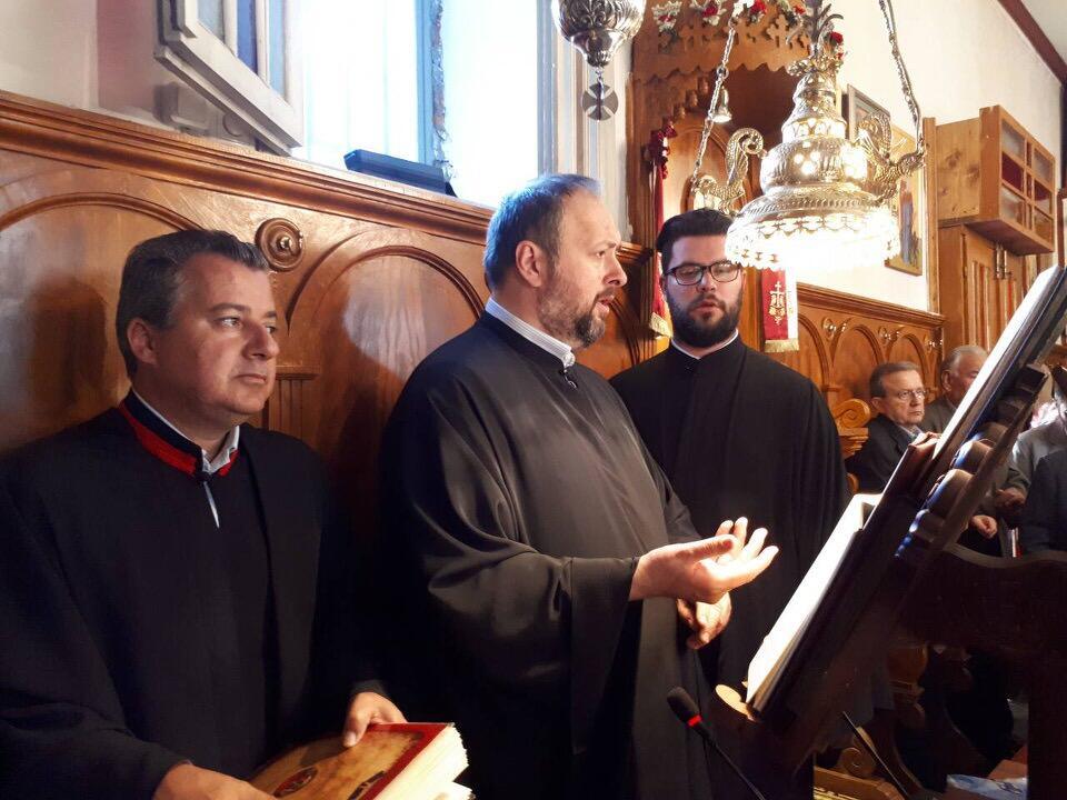 εκδηλώσεις λειψάνου Αγίου Νικολάου Κοινοβιακή Μονή Ιρά Αθανίου