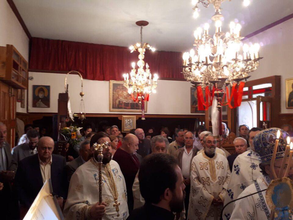 εκδηλώσεις Αγίου Νικολάου Γυναικεία Κοινοβιακή Μονή Ιρά Αθανίου