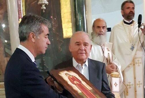 Η Μονεμβασιά εόρτασε την επέτειο επιστροφής της εικόνας της Σταύρωσης