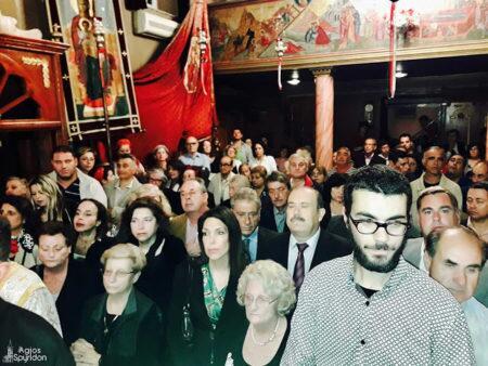 Κέρκυρα: Η λιτάνευση της θαυματουργού εικόνος της Υ.Θ. Λαμποβιτίσσης