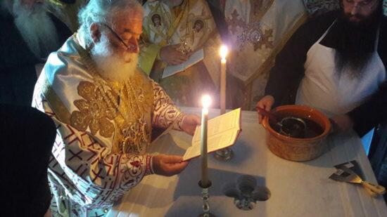 Άγιο Όρος: Λαμπρά Εγκαίνια Ναού του Αποστόλου Μάρκου από τον Πατριάρχη Αλεξανδρείας