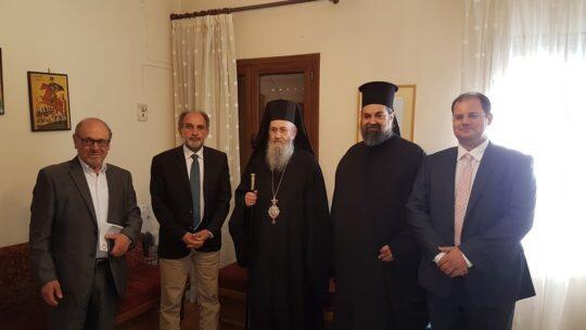 Στο 2ο Πανελλήνιο Μαθητικό Θεολογικό Συνέδριο ο Μητροπολίτης Ναυπάκτου Ιερόθεος