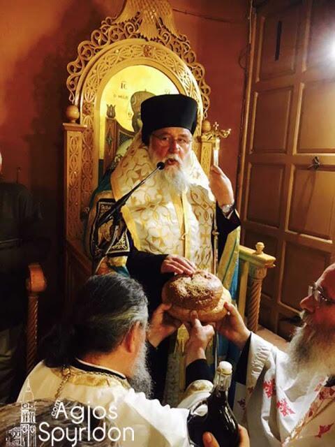 Κωνσταντίνου και Ελένης - εορτή: Αρχιερατικός Εσπερινός στην Κέρκυρα - Καρφιά από Νεκτάριο