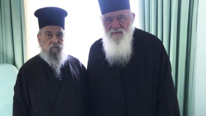 Τον Λαρίσης Ιγνάτιο επισκέφθηκε ο Αρχιεπίσκοπος λίγο πριν τη μετάβαση στις ΗΠΑ