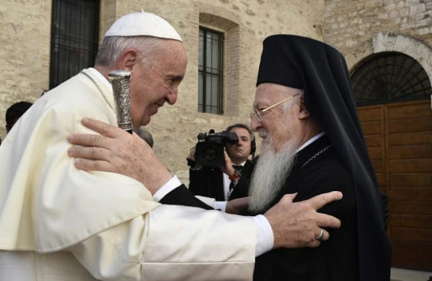 Στη Ρώμη ο Οικουμενικός Πατριάρχης - Έπεται συνάντηση με Πάπα Φραγκίσκο