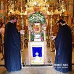 Αναχώρησε για το Άγιο Όρος το Λείψανο της Αγίας Άννης