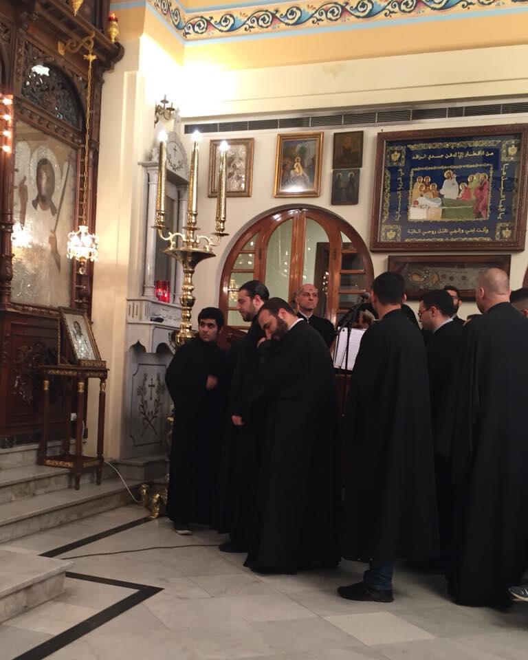 Βηρυττός: Εσπερινός Πεντηκοστής στην Γυναικεία Ιερά Μονή Υπεραγίας Θεοτόκου