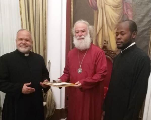 Στον Πατριάρχη Αλεξανδρείας ο νέος Πρόεδρος του Συμβουλίου Εκκλησιών της Αιγύπτου