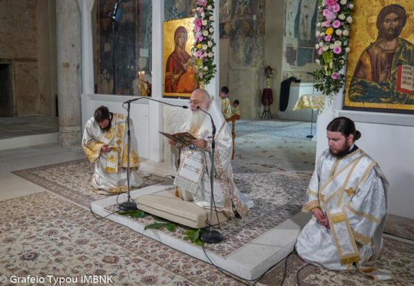 Βέροια: Κυριακή της Πεντηκοστής στην Παλαιά Μητρόπολη