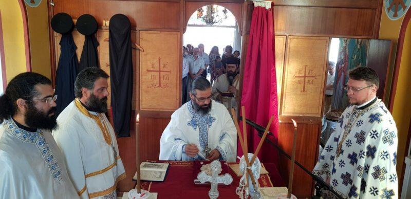 Η εορτή του Αγίου Πνεύματος στο αλιευτικό καταφύγιο Παραλιμνίου - Ρίψη Τιμίου Σταυρού
