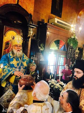 Η εορτή του Αγίου Πνεύματος στην Ι.Μ. Κερκύρας