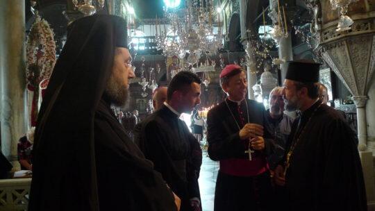 Στην Ευαγγελίστρια στην Τήνο ο Αποστολικός Νούντσιος της Ρ/Καθολικής Εκκλησίας